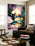 Nova No.31 Cover: Darkhawk and Nova Wall Mural by Brandon Peterson