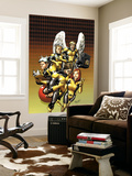 X-Men: First Class No.12 Cover: Cyclops, Marvel Girl, Iceman, Angel and Beast Wall Mural by Carlo Pagulayan