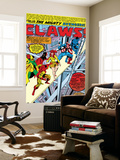 Avengers No.144 Group: Captain America, Iron Man, Vision, Beast and Avengers Flying Wall Mural by George Perez