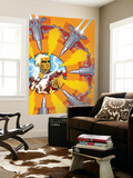 Warlock 3 Cover: Adam Warlock Wall Mural by J.H. Williams III