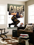 Cable 9 Cover: Cable Wall Mural by Ariel Olivetti