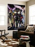 X-Men Legacy Annual No.1 Group: Cyclops, Wolverine, Nightcrawler and Angel Wall Mural by Daniel Acuna