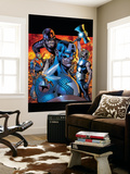 Ultimates No.13 Cover: Wasp, Captain America, Thor, Giant Man, Iron Man and Ultimates Wall Mural by Bryan Hitch
