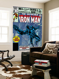 The Invinvible Iron Man No.152 Cover: Iron Man Reproduction murale par Bob Layton