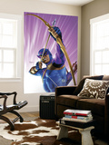 The Pulse No.10 Cover: Hawkeye Wall Mural by Mike Mayhew