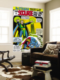 Strange Tales No.161 Cover: Dr. Strange and Baron Mordo Wall Mural by Dan Adkins