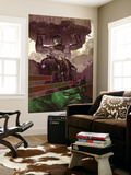 WWH Ahtersmash: Damage Control No.1 Cover: Hulk and Goliath Wall Mural