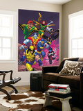 Uncanny X-Men: First Class No.2 Cover: Wolverine Wall Mural by Roger Cruz