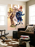Adam: Legend Of The Blue Marvel No.1 Cover: Blue Marvel, Yellowjacket, Ms. Marvel and Iron Man Wall Mural by Mat Broome
