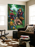 Marvel Adventures The Avengers No.33 Cover: Wolverine Wall Mural by Roger Cruz