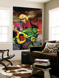 The Mighty Avengers No.23 Cover: Vision, Hulk and Stature Wall Mural by Khoi Pham