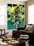 Squadron Supreme 6 Cover: Arcanna, Amphibian and Dr. Spectrum Wall Mural by Greg Land