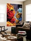 Hulk No.19 Cover: Rulk and Thing Wall Mural by Ed McGuinness