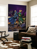 New Exiles No.16 Cover: Madame Hydra and Lilandra Wall Mural by Tim Seeley