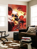 Marvel Divas 4 Cover: Hellcat, Black Cat, Firestar and Photon Wall Mural