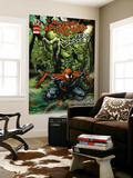 Spider-Man: Fear Itself 1 Cover: Spider-Man and Man-Thing Wall Mural by Mico Suayan