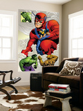 Marvel: Monsters On The Prowl No.1 Group: Hulk, Thing, Giant Man and Beast Wall Mural by Duncan Fegredo