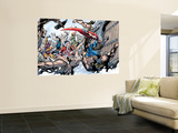 Thor: Truth Of History 1 Group: Thor, Sif and Balder Wall Mural by Alan Davis