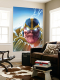 Lockjaw and The Pet Avengers 4 Headshot: Thanos Wall Mural by Ig Guara