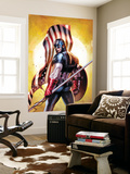 Ultimate Origins 2 Cover: Captain America Wall Mural by Gabriele DellOtto