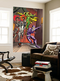 Exiles No.5 Group: Vision, Ultron and Machine Man Wall Mural by Casey Jones