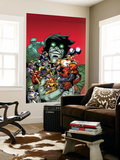 Avengers: The Initiative No.30 Cover: The Hood, Tigra and Nightmare Wall Mural by Rafa Sandoval