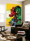 Fall of the Hulks: Gamma No.1 Cover: Hulk Wall Mural by Ed McGuiness
