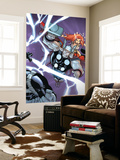 Avengers vs. Atlas No.2 Cover: Thor Wall Mural by Humberto Ramos