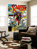 X-Men 2 Cover: Magneto and Professor X Wall Mural by Jim Lee