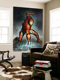 Iron Man No.76 Cover: Iron Man Wall Mural