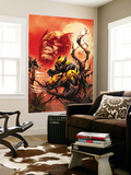 Wolverine: Killing Made Simple 1 Cover: Wolverine Wall Mural by Stephen Segovia