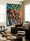 Weapon X: First Class No.1 Cover: Sabretooth and Wolverine Wall Mural by Michael Ryan