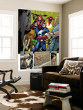 Marvel Adventures The Avengers No.14 Group: Captain America Wall Mural by Kirk Leonard