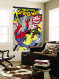 The Amazing Spider-Man No.98 Cover: Green Goblin and Spider-Man Fighting Wall Mural by Gil Kane