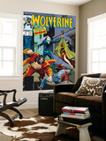 Wolverine No.4 Cover: Wolverine, Roughouse, Bloodsport and Karma Wall Mural by John Buscema