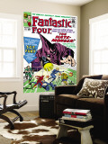 The Fantastic Four No.21 Cover: Mr. Fantastic Wall Mural by Jack Kirby