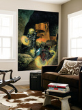 Ghost Riders: Heavens On Fire 3 Cover: Ghost Rider Wall Mural by Das Pastoras