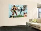 Incredible Hulk No.106 Group: Cho, Amadeus, Hercules and Angel Wall Mural by Gary Frank