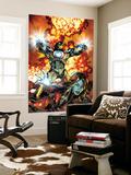 Brandon Peterson - Ultimate Comics Armor Wars No.2 Cover: Iron Man, Hammer and Justine Nástěnný výjev