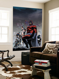 Civil War: House Of M No.5 Cover: Magneto Wall Mural by Mike Perkins