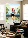 Spider-Man Loves Mary Jane Season 2 1 Cover Wall Mural by Terry Moore