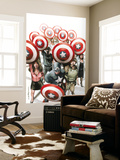 Captain America: The Chosen No.6 Cover: Captain America Wall Mural by Mitchell Breitweiser