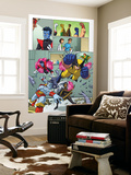 Uncanny X-Men: First Class Giant-Size Special 1 Group: Wolverine Wall Mural by Craig Rousseau