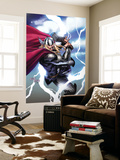 Thor No.604 Cover: Thor Wall Mural by Billy Tan