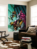 Wolverine: First Class No.3 Cover: Wolverine, Shadowcat and High Evolutionary Wall Mural by Salvador Espin