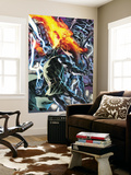 Fantastic Four No.560 Cover: Dr. Doom, Human Torch and Galactus Wall Mural by Bryan Hitch
