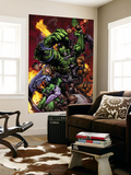World War Hulk No.2 Cover: Hulk Wall Mural by David Finch