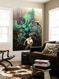 Ariel Olivetti - Incredible Hulk No.604 Cover: Banner, Bruce and Skaar Nástěnný výjev