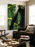 The Immortal Iron Fist No.12 Cover: Iron Fist Swinging Wall Mural by Kaare Andrews