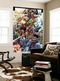 Harvey Tolibao - Avengers: The Initiative No.19 Group: Spider-Man, Crusader, Captain America, Wolverine and Thor Nástěnný výjev